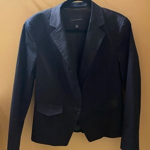 Banana Republic Navy size 14 fitted blazer